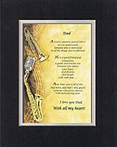 Amazon Com Touching And Heartfelt Poem For Fathers Dad