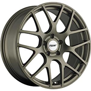 TSW Nurburgring 18 Bronze Wheel / Rim 5×120 with a 35mm Offset and a 76 Hub Bore. Partnumber 1880NUR355120Z76