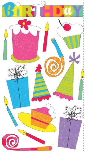 Sticko Classic Stickers, Birthday Party