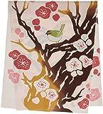 kenema 和雑貨 注染手ぬぐい 『花圃』 春待ち梅 36×90cm