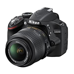 Nikon D3200 24.2MP Digital SLR Camera from Amazon