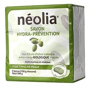 Neolia Hydra-prevention Olive oil soap (3 x 130g)