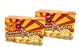 J&D's Cheddar BaconPOP, Cheddar Bacon Flavor Microwave Popcorn, 9 oz Boxes in a Gift Box (Pack of 2)