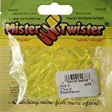 Mister Twister Teenie, Chartreuse, 2-Inch