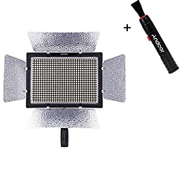 Yongnuo YN-600L 600 LED Studio Video Light Color Temperature Adjustable with ...