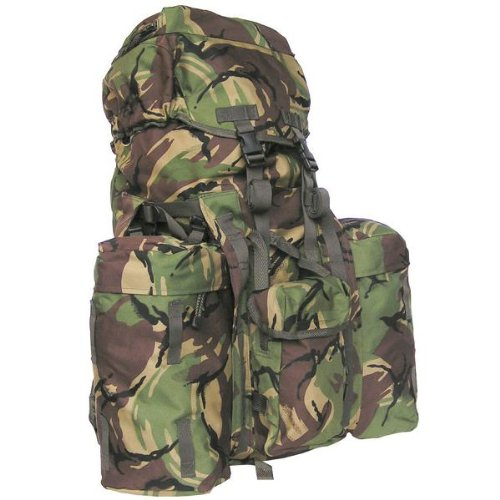 FULL SIZE 120L PLCE BRITISH DPM CAMO BACKPACK/RUCKSACK