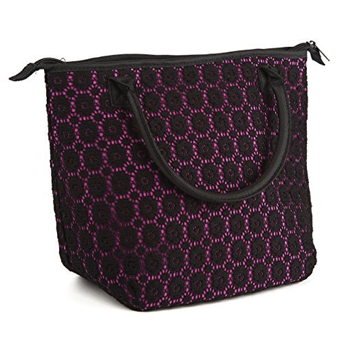 Luxurious Lace Chicago Insulated Lunch Bag - 1