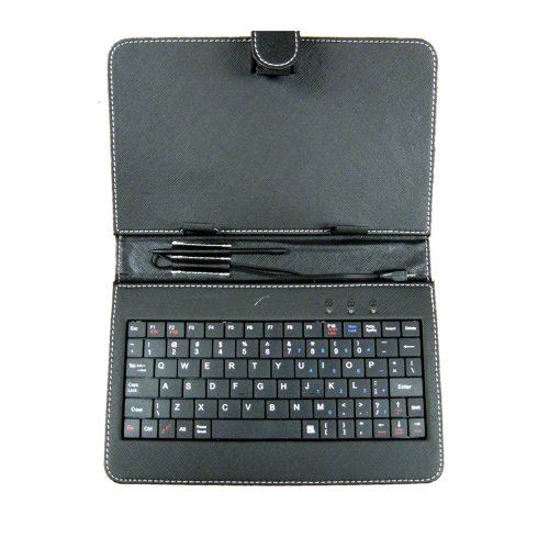 Qfx Keyboard Case For 7-Inch Tablets (Kb107)