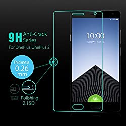 INFINITO (TM) 2.5D Curved Edges 9H Hardness Premium Tempered Glass For One Plus Two 1+2