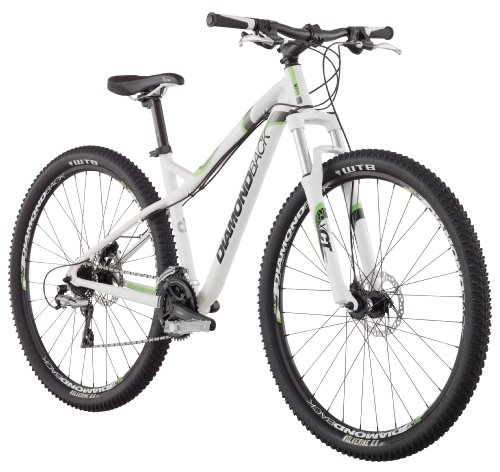 Diamondback 2013 Women's Lux Sport 29'er Mountain Bike with 29-Inch Wheels  (White, 17-Inch/Medium)