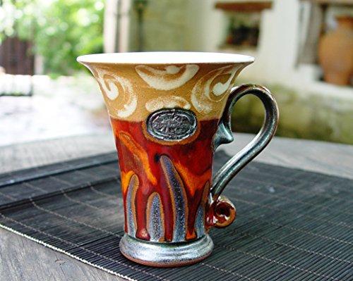 Ceramics and Pottery Coffee Mug, Tea mug, Unique Mug (Unique Coffee compare prices)