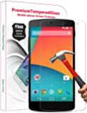 PThink® 0.3mm Ultra-thin Tempered Glass Screen Protector with 9H Hardness/Anti-scratch/Fingerprint resistant (Google Nexus 5)