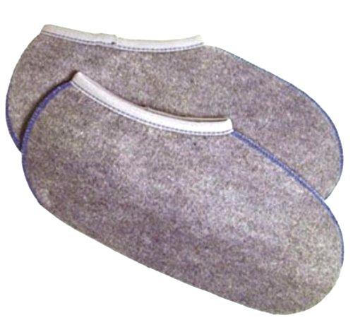 WOWERAT-2-Paar-Wowerat-Stiefelsocken-sogenannte-Rohaarsocken-Spezialartikel-super-warm-DEUTSCHE-WARE-3738Grau