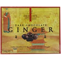 Beech's Fine Chocolates Dark Chocolate Covered Ginger 200 g (Pack of 2)