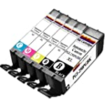 1 Set of 5 Ink First Ink Cartridges P...