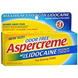 ASPERCREME WITH LIDOCAINE 4.7 OZ