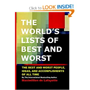 THE WORLD'S LISTS OF BEST AND WORST