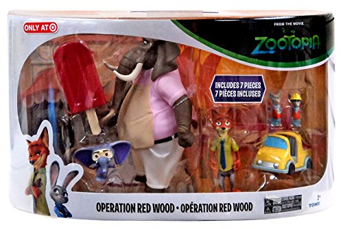 Disney Zootopia Operation Red Wood