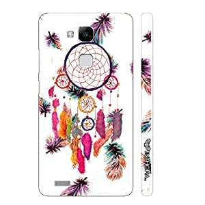 Huawei Ascend Mate 7 Dream Catcher Art designer mobile hard shell case by Enthopia