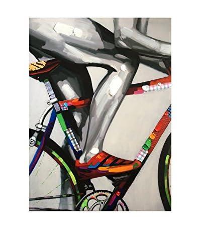 Legendarte Leinwandbild Il Ciclista
