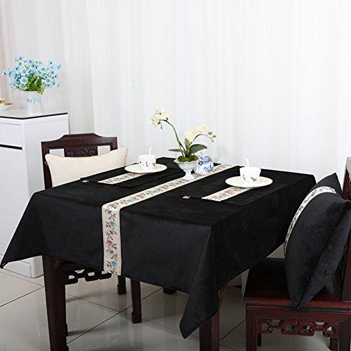 Nappe jardin américano-européen/Nappe de table de salle à manger de style minimaliste moderne/ art de nappe de table basse/ table-B 140x240cm(55x94inch)