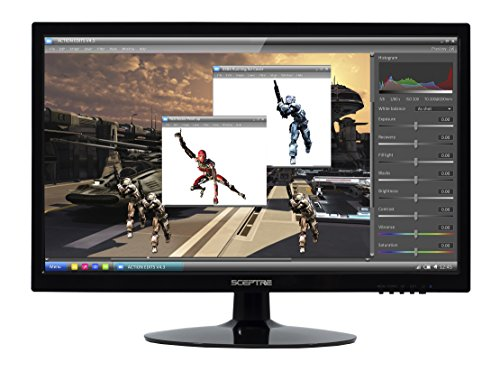 "Sceptre E205W LED Monitor - 20"", 1600 x 900 resolution, 1000"