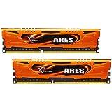 G.Skill RAM 8 Go - 2x 4096 Go - DDR3-1600 - 9-9-9-2N - Ares - F3-1600C9D-8GAO