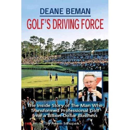 Image: DEANE BEMAN GOLF'S DRIVING FORCE: Adam Schupak