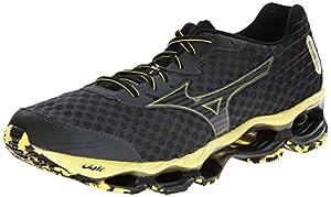 Mizuno Men's Wave Prophecy 4 Running Shoe,Turbulence Black,11 D US