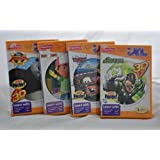 I Xl Learning System Games Bundle Of 4 Kung Fu Panda 2 / Handy Manny / Cars 2 / Green Lantern