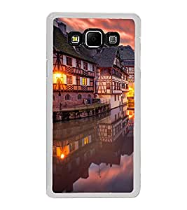 ifasho Venice City Back Case Cover for Samsung Galaxy A8