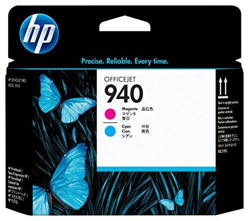 HP 940 Cyan & Magenta Original Printhead (C4901A) (Print Heads compare prices)