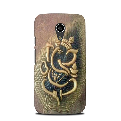 premium selection bb2c9 e07d4 StyleO leaf Lord Ganesha designer printed mobile back cover for Moto G2  (2nd Gen) (Tempered Glass free)