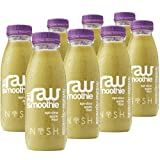 Nosh Detox 'The Raw Smoothie' - 8 x 250ml 'Revitalise & Rejuvenate' Spirulina Apple & Mint Sugar Free Smoothie Detox Drink to help Weight Loss Review-image