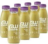 Nosh Detox 'The Raw Smoothie' - 8 x 250ml 'Revitalise & Rejuvenate' Spirulina, Apple & Mint Sugar Free Smoothie Detox Drink to help Weight Loss