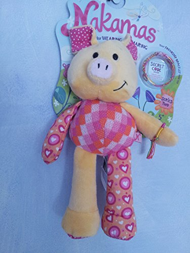 Nakamas Series 2 Portia Pig First Edition NK108 Friendship Bracelet Sharing - 1
