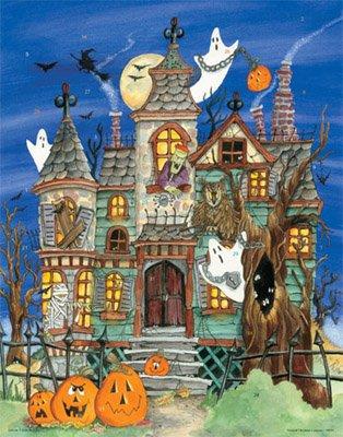 Haunted House Countdown Calendar - 1