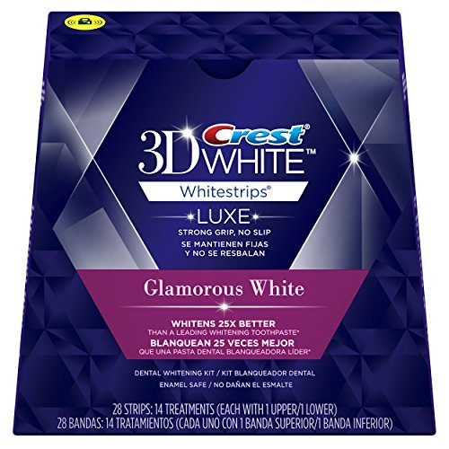 Crest 3D White Whitestrips with Advanced Seal Technology 14 Count (Packaging May Vary) (Pack of 3 (14 treatments ea))