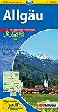 ADFC-Regionalkarte Allgäu mit Tagestouren-Vorschlägen, 1:75.000, reiß- und wetterfest, GPS-Tracks Download