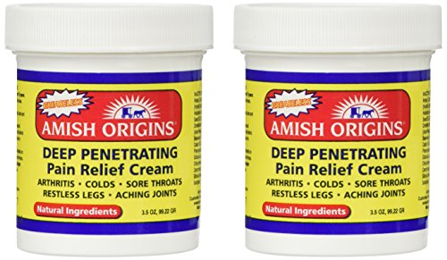 2 Pack Pain Relief Cream - Greaseless, Deep Penetrating, 2 x 3.5 ounces, ointment