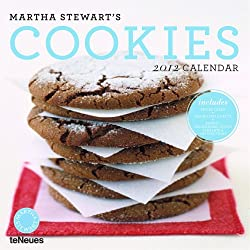 2012 Martha Stewart's Cookies Wall Calendar (English, German, French, Italian, Spanish and Dutch Edition)