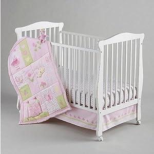 Nojo Princess Rose Crib Bedding Collection Baby Bedding