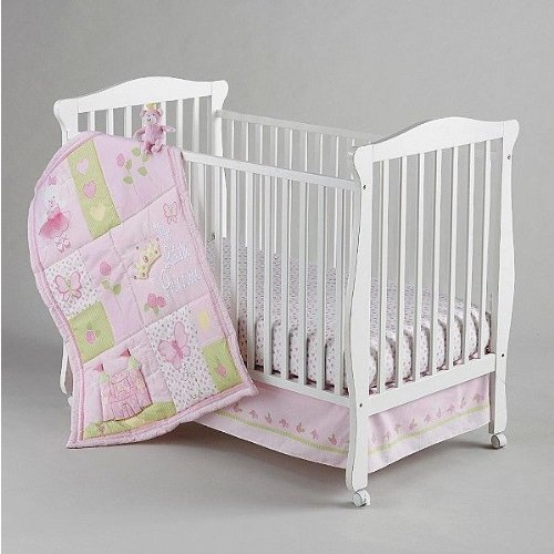 Nojo Princess Rose Crib Bedding