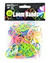 Touch of Nature 525-Piece Loom Bands Glow-in-The-Dark Assortment