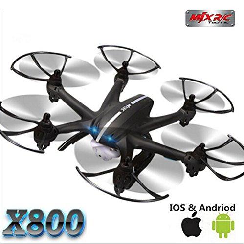 EDW-X800-24G-6-Achsen-RC-Hubschrauber-Drohne-Untersttzung-3D-Flips-Rolle-6-Channels-Mini-Drones-mit-Flaslight-FPV-Schwarz-QuadcopteprSchwarz