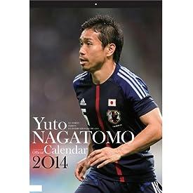 Jリーグエンタープライズ 予約 2014 日本代表 長友佑都 オフィシャルカレンダー