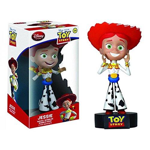 Funko Disney Toy Story Jessie Cowgirl Talking Wacky Wobbler Bobble Head - 1