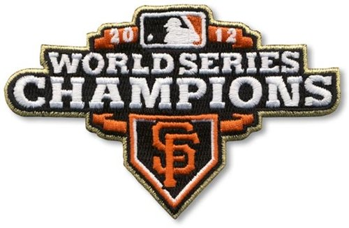 2012 San Francisco Giants World Series Champions Logo Sleeve Patch (2013 Ring Ceremony Version) at Amazon.com