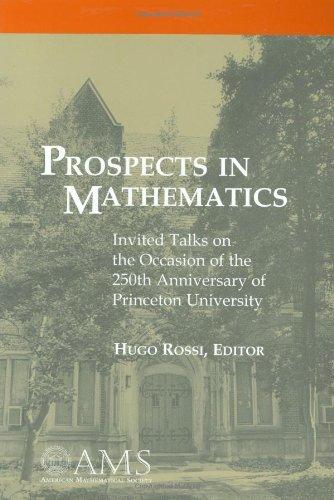 Prospects in Mathematics