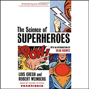 The Science of Superheroes Audiobook
